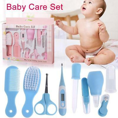 Baby/Infant Grooming Health Care Complete Safety Kit - 10pc Set incld. nails
