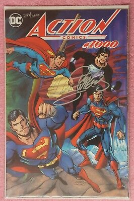 Action Comics #1000 dynamic forces wraparound color variant signed by D.jurgens