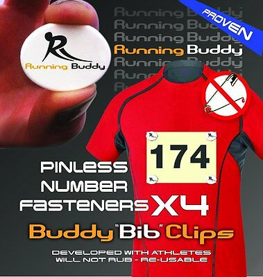 Running Buddy BIB CLIPS