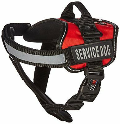 Dogline Unimax Service Dog Vest and Free Service Dog ID Badge with ADA Law, Medi