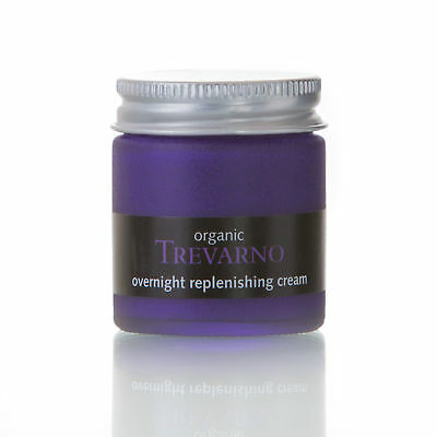 Organic Trevarno Overnight Replenishing Cream, firming cream for dry skin