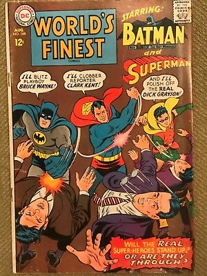 World's Finest Comics #168 (Aug 1967, DC)