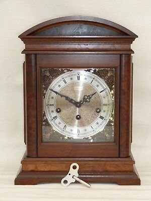 Stunning, Hamilton / Hermle Triple 3 Tune Westminster Chime Bracket Mantle Clock