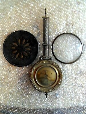 A Good Selection Of Antique Clock Spare Parts.