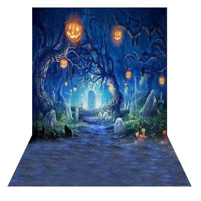 1.5*2M Photography Studio Backdrop Photo Props Screen Background Halloween I7E0