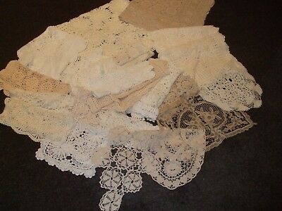 Bulk Lot Vintage Crochet Doilies/Runners/Tablecloth (22)  Batch 2.