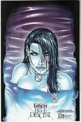 Fathom Blue Descent #0 Limited Edition Retailer Exclusive NM Michael Turner 2010