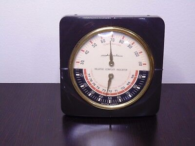 vintage airguide barometer 3 in 1 temperature and humidity gauge rh picclick com Airguide Thermometer Banjo Barometer Airguide Instrument Company