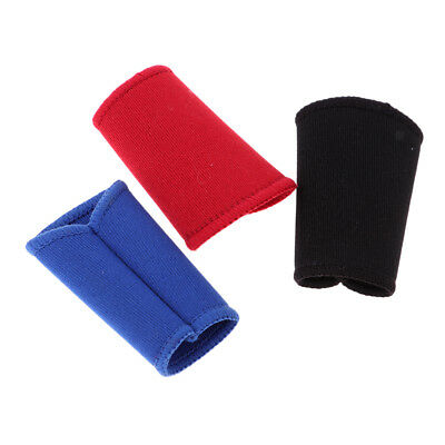 3 Stück Neopren Fingerschutz Ärmel Finger Guard Gear Volleyball Sport