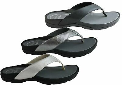 86a15c99c674 New Scholl Orthaheel Treasure Womens Comfort Supportive Thongs Flip Flops