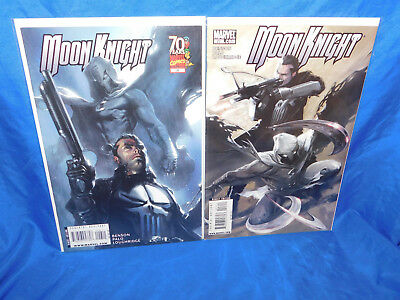 Moon Knight #26 27 Dell Otto Cover Punisher Appearance Lot Marvel Fn/vf