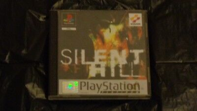 Silent Hill ps1  game Sony PlayStation 1, 1999  rare survival horror