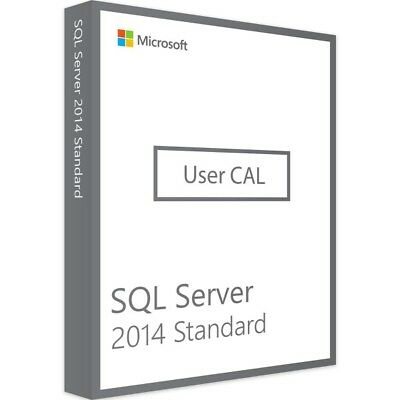 Microsoft SQL Server 2014 Standard 10 User CALs