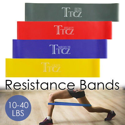 4 Pcs Resistance Bands Loop Mini Band Exercise Strength Fitness Yoga Pilates GYM