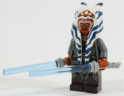 NEW LEGO STAR WARS SITH JEDI MINIFIGURE DOUBLE LIGHTSABER PARTS X2 Baukästen & Konstruktion