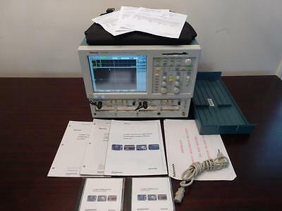 Tektronix CSA8000 Signal Analyer w/ 80C01-CR & 80C02-CR Modules - CALIBRATED!