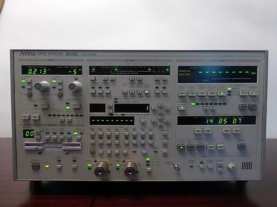Anritsu MP1764A 50 MHz to 12.5GHz Error Detector (BERT) w/ Opt 01 - CALIBRATED!
