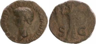 As 41-54 N. Chr. Antique/Roman Empire/Claudius S-Ss