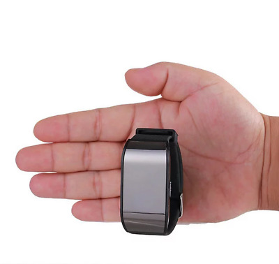 Spy 8GB Digital Voice Recorder Wearable Wristband Watch Pen Audio Recording