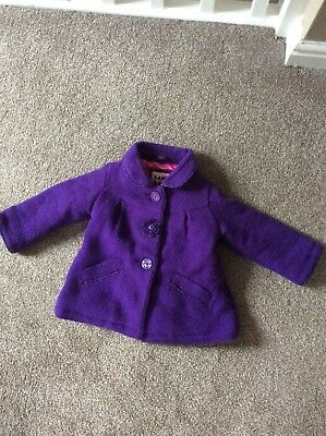 562ef0419403 BABY GIRLS TED Baker Coat Age 3 6 Months - £7.50