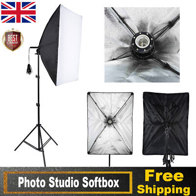 Photography Studio Softbox Continuous Lighting Soft Box 50x70cm with E27 Socket