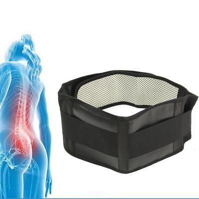 Deluxe Double Pull Magnetic Lumbar/ Lower Back Support Belt Breathable Brace