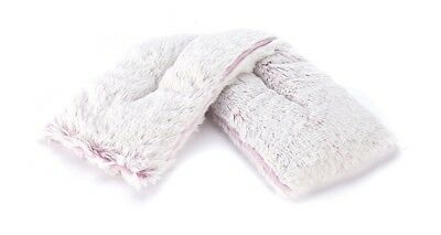 NEW Warmies Cosy Pink Marshmallow Fur Lavender Scented Microwavable Neck Wrap