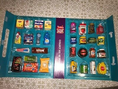 Coles Little Shop - Full Set With Case!             FREE EXPRESS POST SHIPPING!
