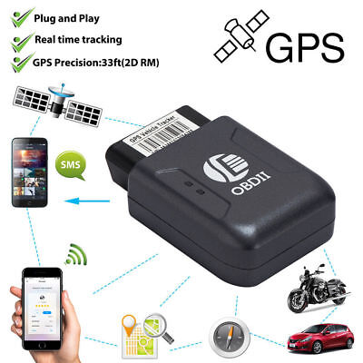 Mini GPS OBD2 OBDII Voiture Tracker Camion Realtime Tracking Device GSM GPRS