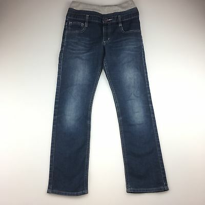 Girls size 10, MPS, denim jeans with elasticated waist, GUC