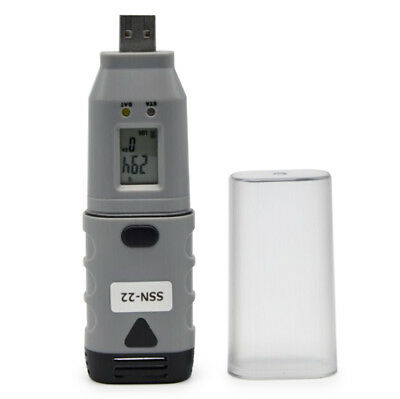 SSN - 22 USB Temperature Humidity Data Logger Recorder for Setup / Data Download