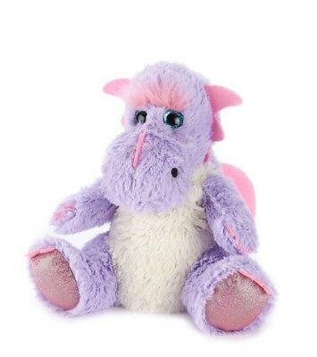 Warmies Cozy Plush Microwavable LILAC DRAGON Lavender Scented Heatable Toy