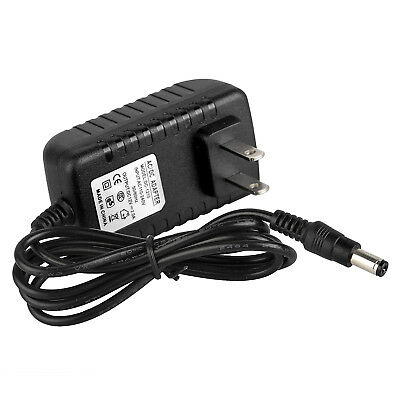 DC 12V 2A US CA Plug Power Supply Adapter 5.5 x 2.1mm Connector 100-240V Input