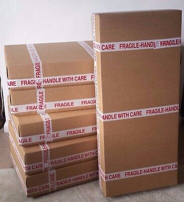 New Base & Lid Cardboard box for ACOUSTIC GUITAR shipping / packaging / posting