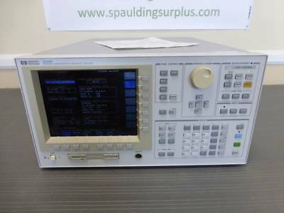 Agilent / HP 4156B Precision Semiconductor Parameter Analyzer - CALIBRATED!