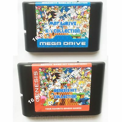 2320 In 1 Genesis (Mega Drive) Game Collection - DIY - FREE SHIPPING WORLDWIDE