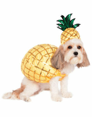 Pineapple Tropical Fruit Pet Dog Cat Festival Party Halloween Costume Large New