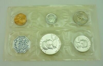 1962 P United States Mint 5 Coin Silver Proof Set ~ 5442~