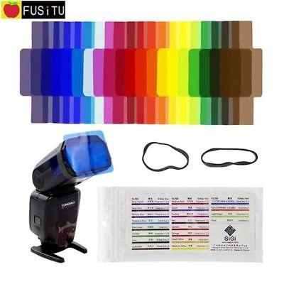 20pcs Flash Speedlite Color Gels Filters