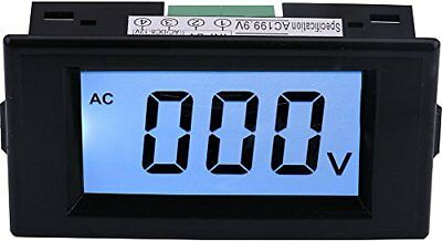 Yeeco AC 0-600V LCD Display Digitale Voltometro Volt Pannello Metro (a90)