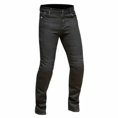 Route One Womens Olivia Classic Black Abrasion Resistant Motorcycle Jeans