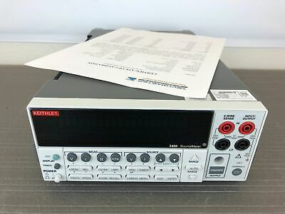 Keithley 2400 General Purpose Digital SourceMeter (200V, 1A, 20W) - CALIBRATED!