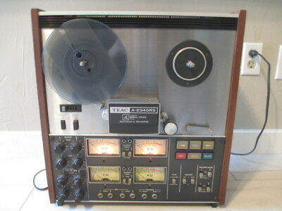 Teac A-2340Rs - Simul-Track Stereo Reel-To-Reel Vintage Tape Deck