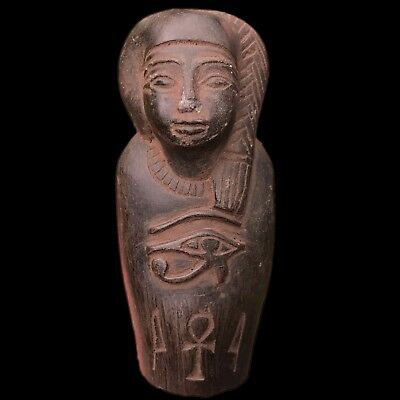 EGYPTIAN HIEROGLYPHIC SHABTI FRAGMENT, LATE PERIOD 664 - 332 BC (1) Large