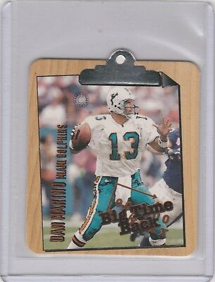 Miami Dolphins Dan Marino 1997 Fleer Goudey Big Time Back  RARE