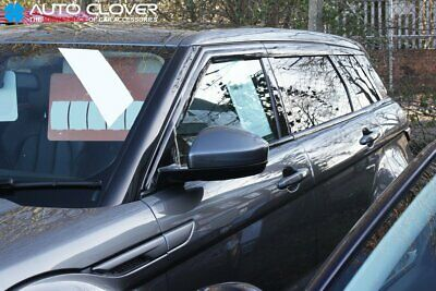 For Rover Range Evoque 2011+ 5 Door Wind Deflectors Set (6 pieces)