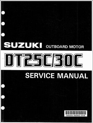 93 00 suzuki dt75 dt85 2 stroke outboard motor service repair manual