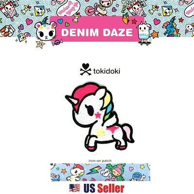 Tokidoki Denim Daze Embroidered Iron on Patch : Stellina