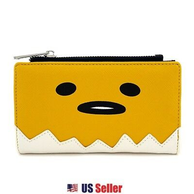 Loungefly x Gudetama Big Face Zip Around Wallet