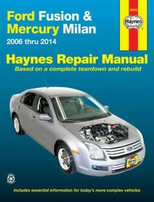 2006 2010 ford fusion mercury milan repair manual owners book rh picclick com 2011 Ford Fusion Manual Ford Fusion Repair Manual